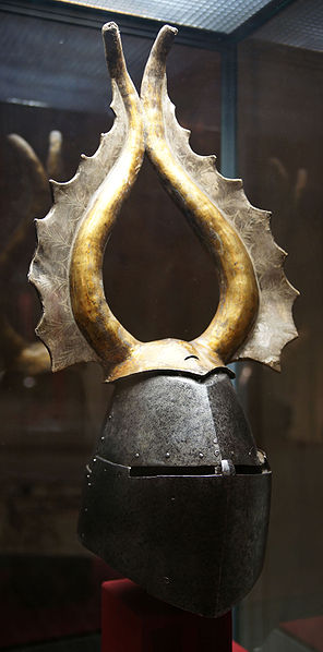 296px-KHM_Wien_B_74_-_Great_helm_of_Albert_von_Prankh,_14th_century,_front.jpg
