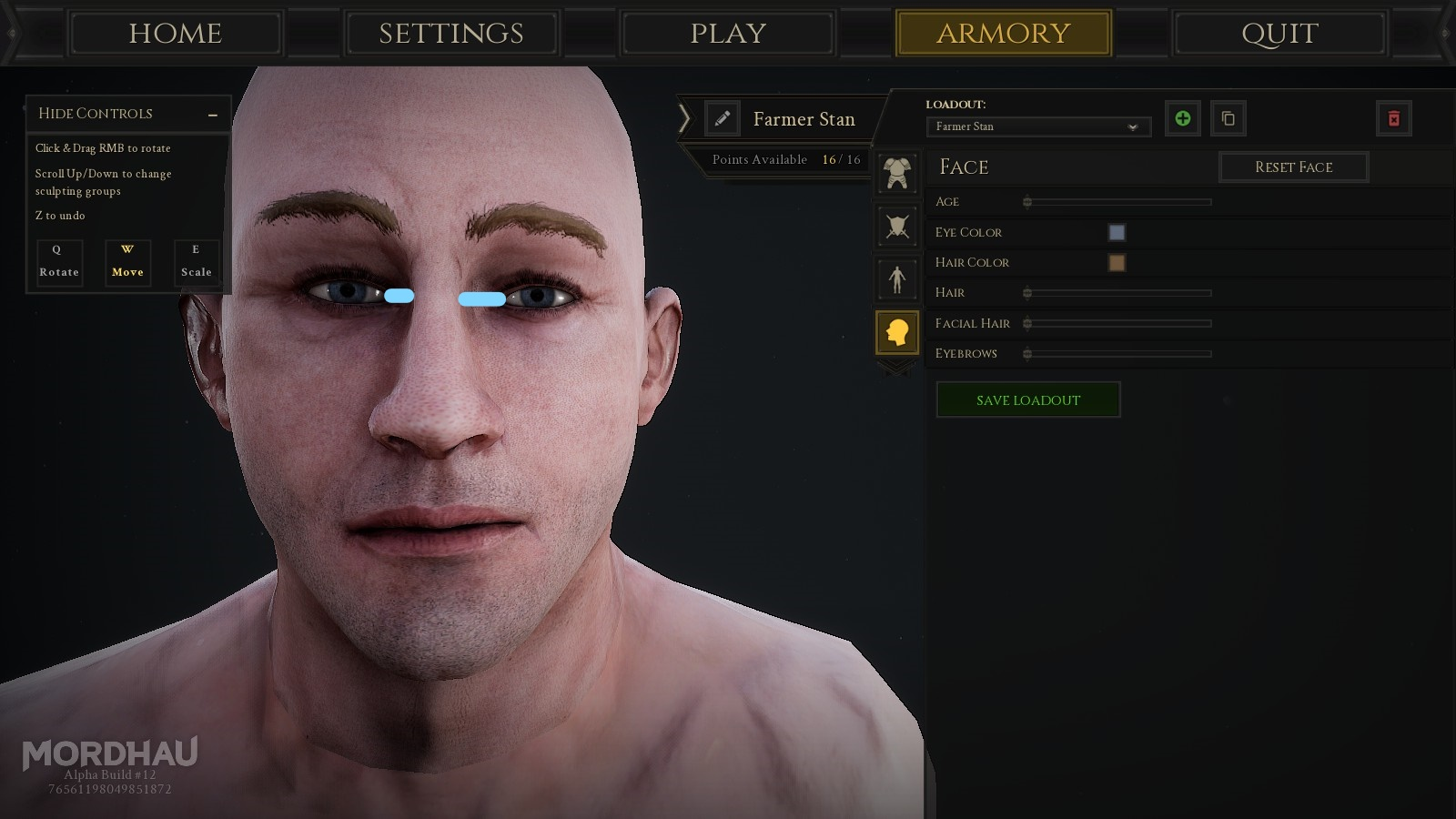 The face sculpting is bad  - Mordhau com Forums